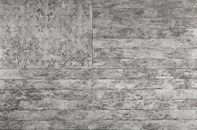 Large White Flag, Rudolph Burckhardt, 8x10 inch Silver Gelatin Print