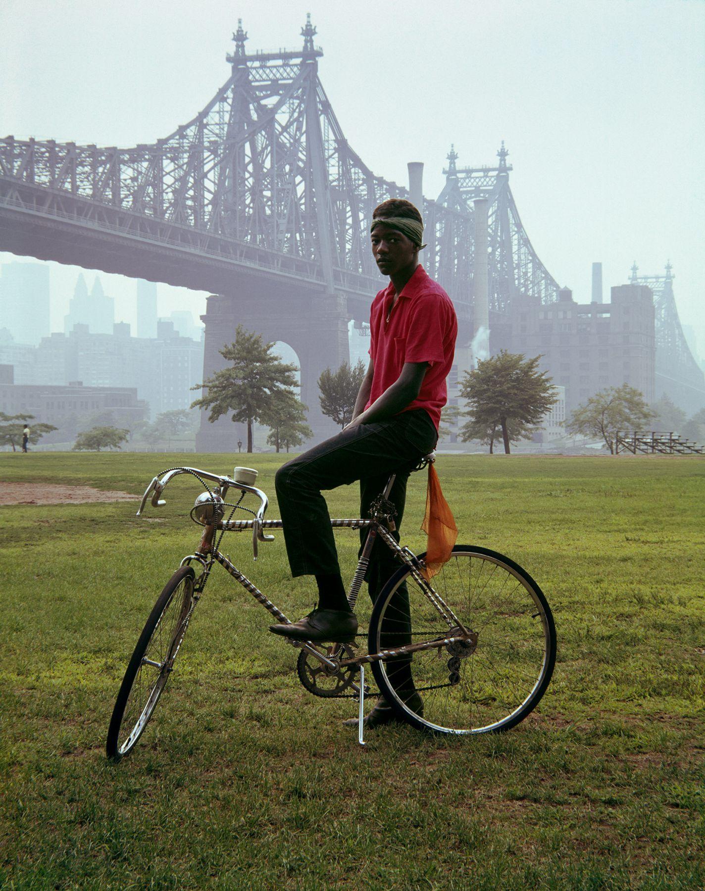 Queensboro Bridge, New York.1964, 20 x 16 inch dye transfer print