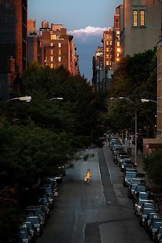 Joseph Holmes. West Nineteenth Street (Yellow Dress), 2009.