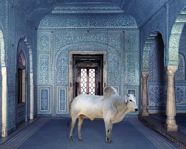 The Gatekeeper, Zanana, Samode Palace.