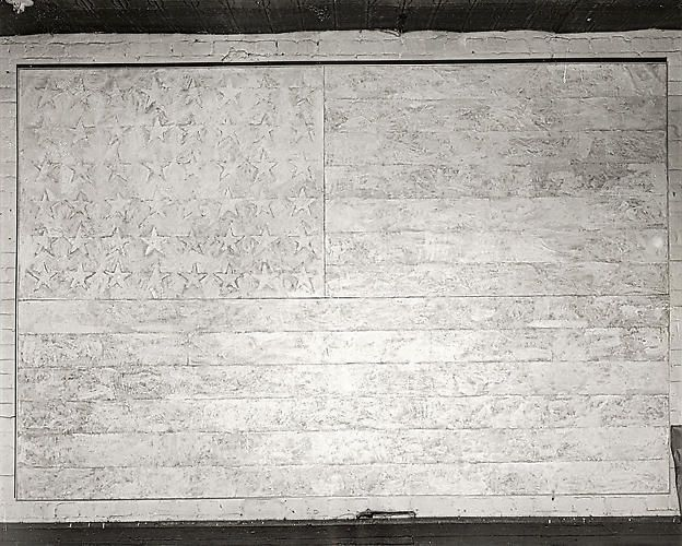 Large White Flag,  8x10 inch Silver Gelatin Print
