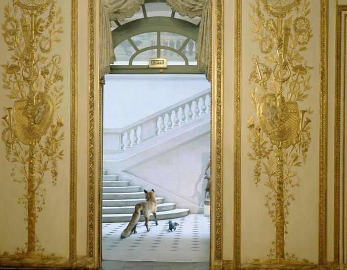 Ledoux's Reception, 2004, 32 x 40 inch archival pigment print