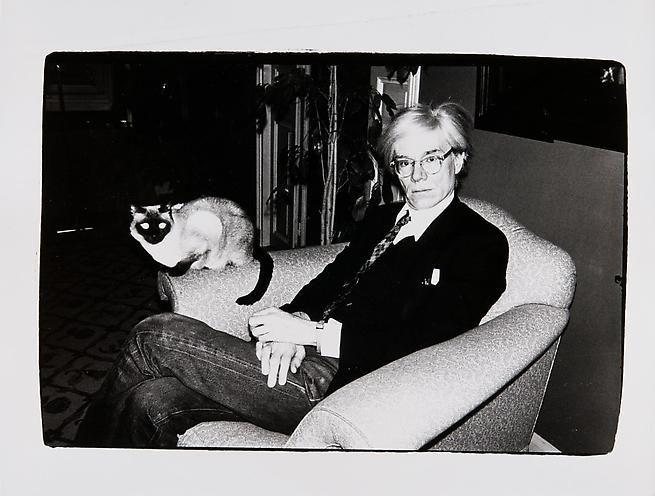 Andy Warhol, c. 1977.
