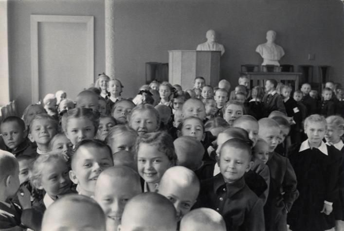 Henri Cartier-Bresson, Russia. 1955.
