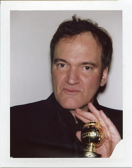 "Quentin Tarantino, 2013, 3.5"" x 4.25"""
