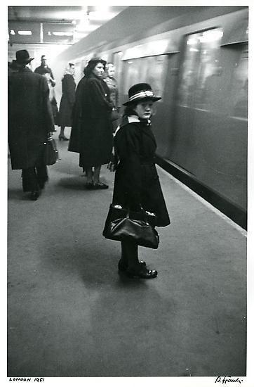 London. Schoolgirl. 1951.
