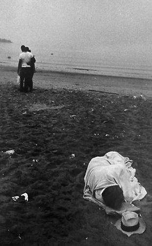 Robert Frank. Coney Island. 1955 (vintage print).