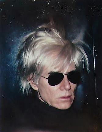 Andy Warhol. Self-portrait in Fright Wig. 1986.