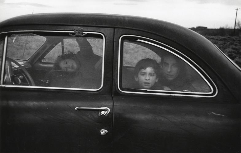 Robert Frank, Family on the Road, 1955