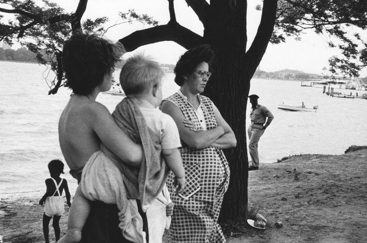 Robert Frank, Belle Isle, Detroit, 1955