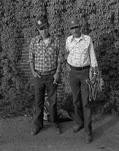 Joe Crowder & Charles Nelson, Hannibal, MO, 1987.