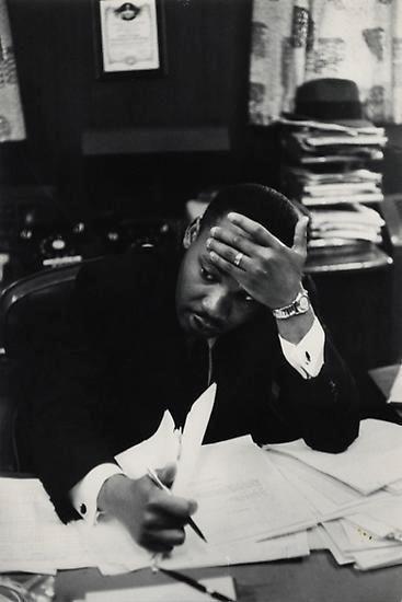 Henri Cartier-Bresson, Martin Luther King. Atlanta. 1961.