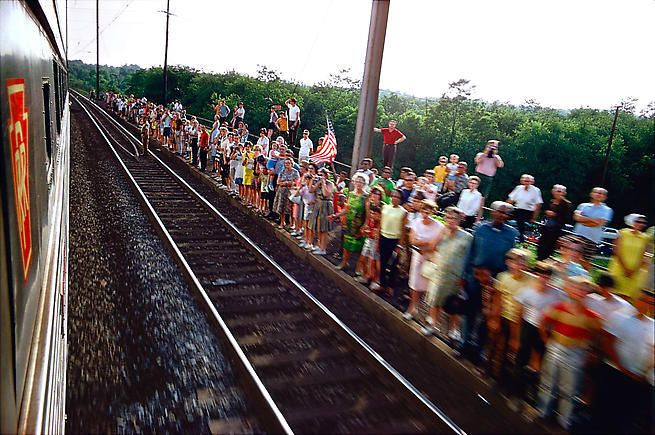 Untitled from RFK Funeral Train Rediscovered,