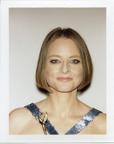 """Jodie Foster, 2013, 3.5"""" x 4.25"""""""