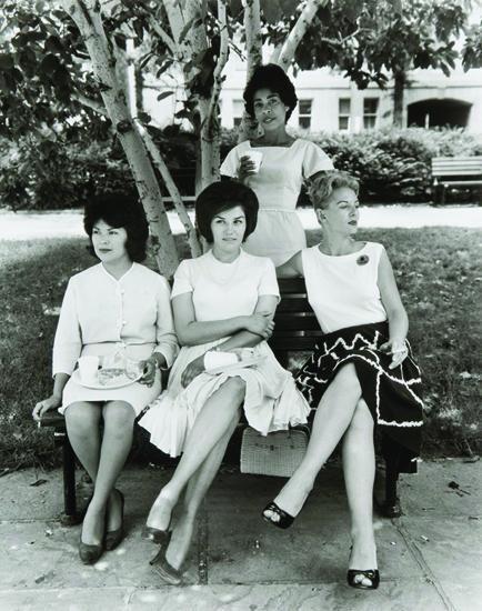 Secretaries in Rawlings Park, Washington, 1965