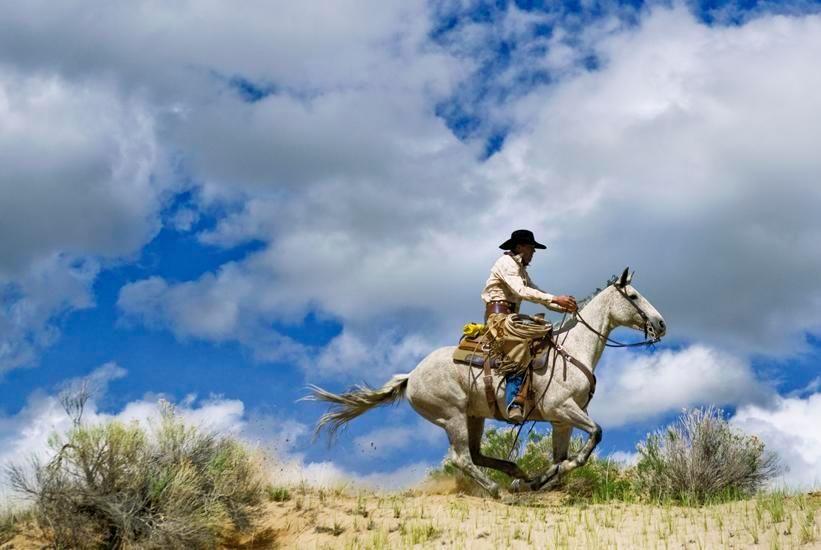 Epic Western no. 9, 2010, 40 x 60 inch c-print