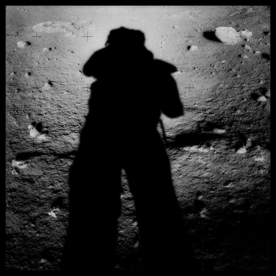 045Astronaut's Shadow; Photographed by