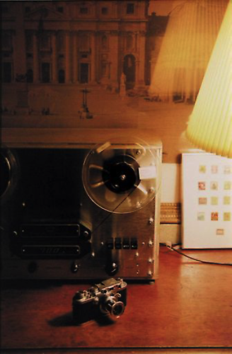 William Eggleston. UNTITLED (TAPE RECORDER, CAMERA). early 80's