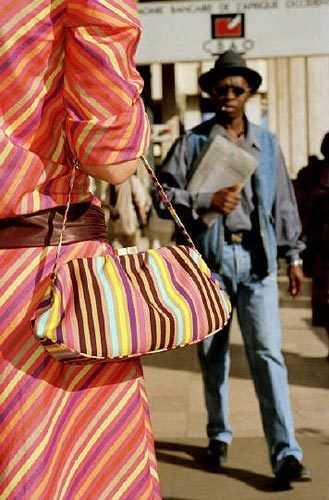 Dakar (Striped Dress), 2001