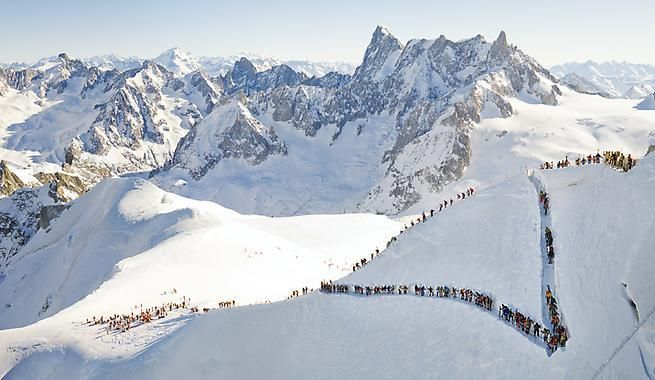 Patrick Smith. Aiguille du Midi, 2009.
