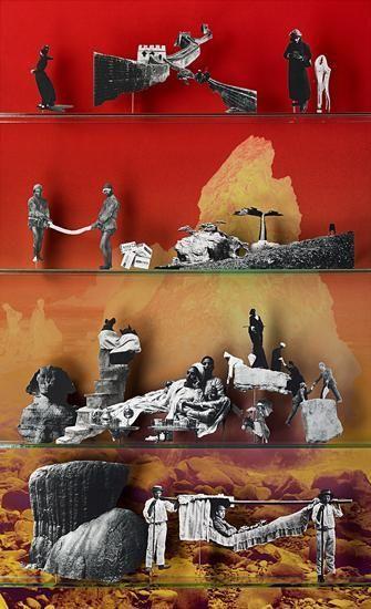 Travel, 2013, 65.5 x 40 inch C-print