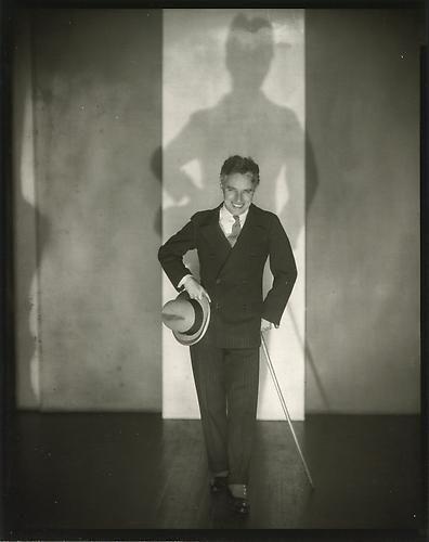 Charlie Chaplin, 1928.