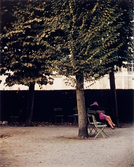 Couple, Jardin de Luxembourg, Paris, 1967
