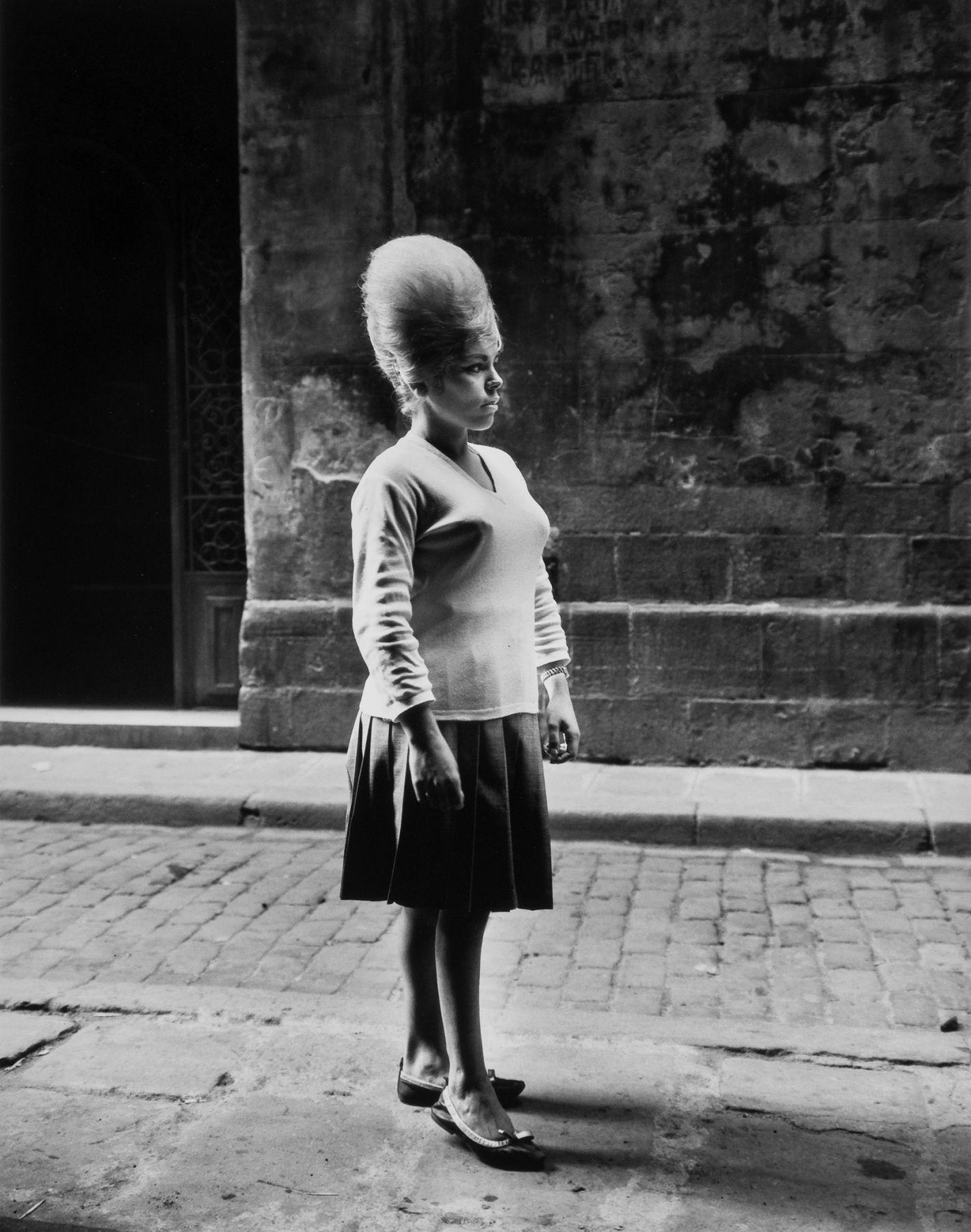 Girl, Barcelona.1963, 20 x 16 inch gelatin silver print