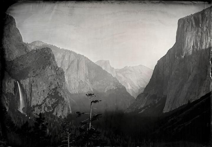 Ian Ruhter, Tunnel View Yosemite, 2012
