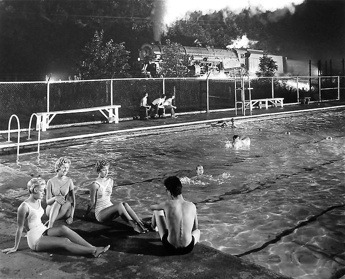 Swimming Pool, Welch, West Virginia, 1958