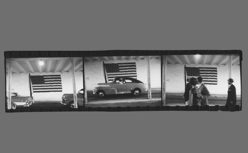 Robert Frank, Ferryboat to Washington D.C., 1951