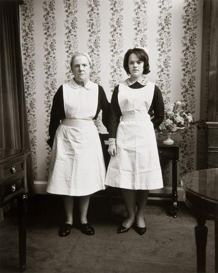 Anna and Emma, Dublin, 1966, 20 x 16 inch gelatin silver print