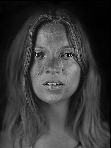 Chuck Close. Kate Moss.  2003 / printed 2009.