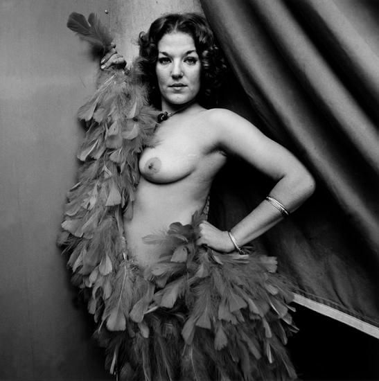 "Mitzi, Tunbridge, VT, 1974, 	From ""Carnival Strippers"""