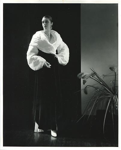 Edward Steichen. Vogue Fashion Evening Gown. 1930.
