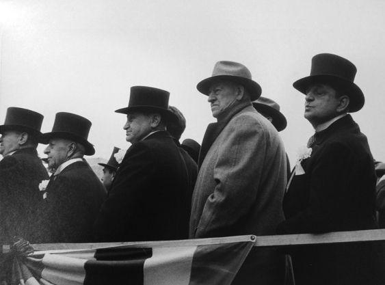 Robert Frank. City Fathers. Hoboken, NJ. 1955.
