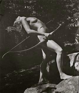 Bruce Weber. Liz, Upper Saranac Lake, New York. 1983.