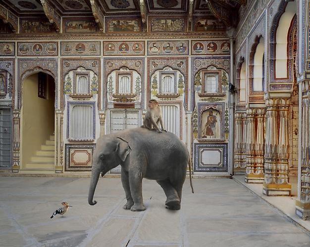 Conqueror of the World, Podar Haveli, Nawalgarh.