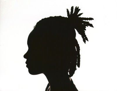 Katherine Wolkoff. Untitled Silhouette (braids), 2007.