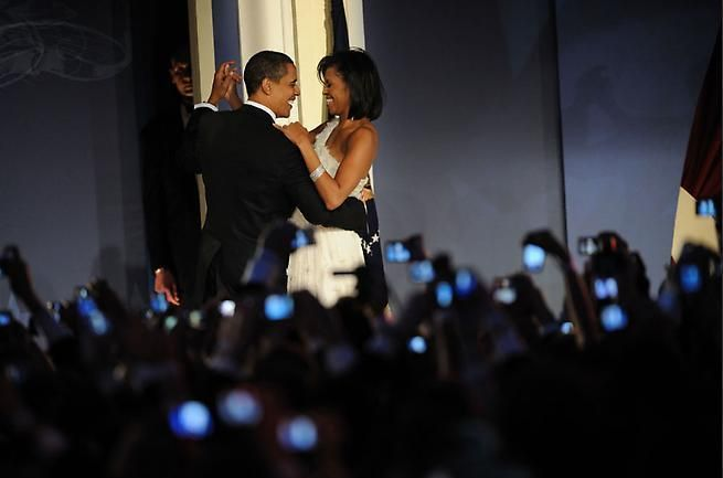 Scout Tufankjian. President Barack Obama and First Lady Michelle Obama, Inauguration Night, 2009.