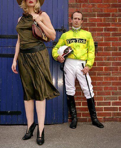 Jockeys (Brown Dress), 2004