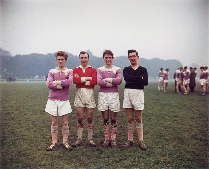 Phoenix Park on a Sunday, Dublin, 1966, 16 x 20 inch dye transfer print