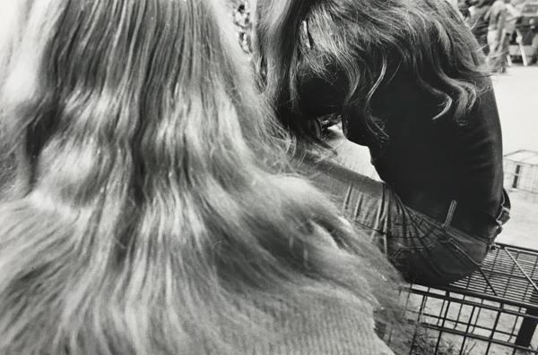 Hair, Hair. 1971, 11 x 14 inch gelatin silver print
