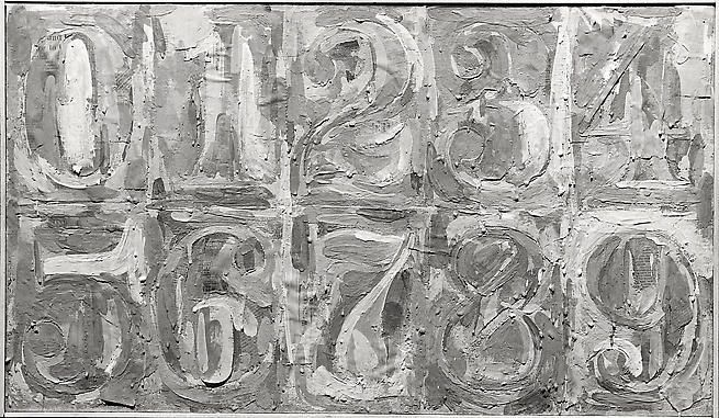 Numbers 1-9, Charles Uht, 8x10 Silver Gelatin Print