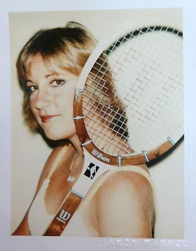 Chris Evert, 1977.