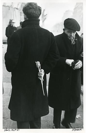 New Year, 1950 (Man with Tulip, Paris)