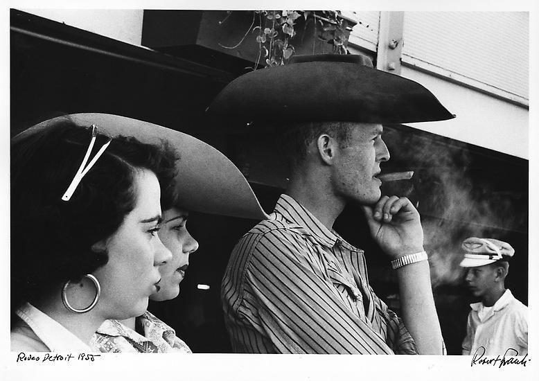 Robert Frank, Rodeo, Detroit, 1955