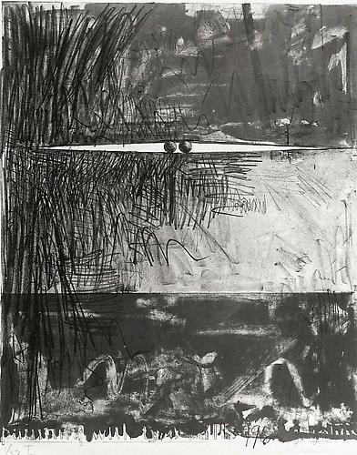 Painting With Two Balls, Soichi Sunami, 8x10 inch Silver Gelatin Print