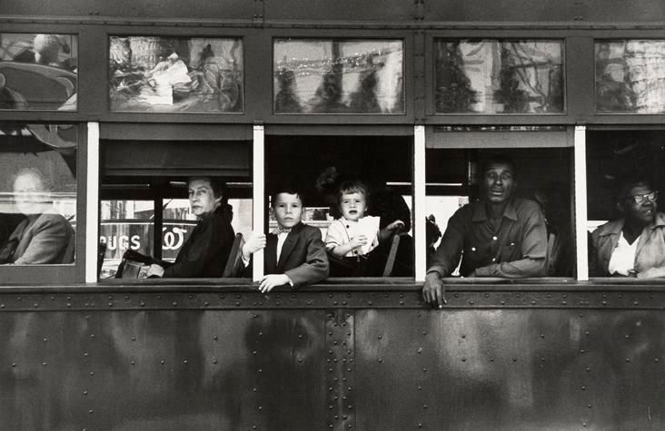 Robert Frank, 	Trolley New Orleans. 1955
