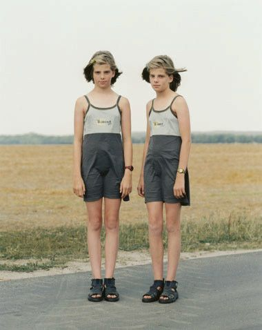 "Albrecht Tubke From the series ""Twins"".  2001"